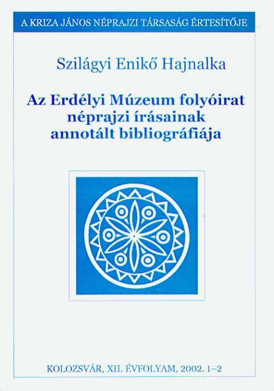 [Bibliografia scrierilor etnografice revistei