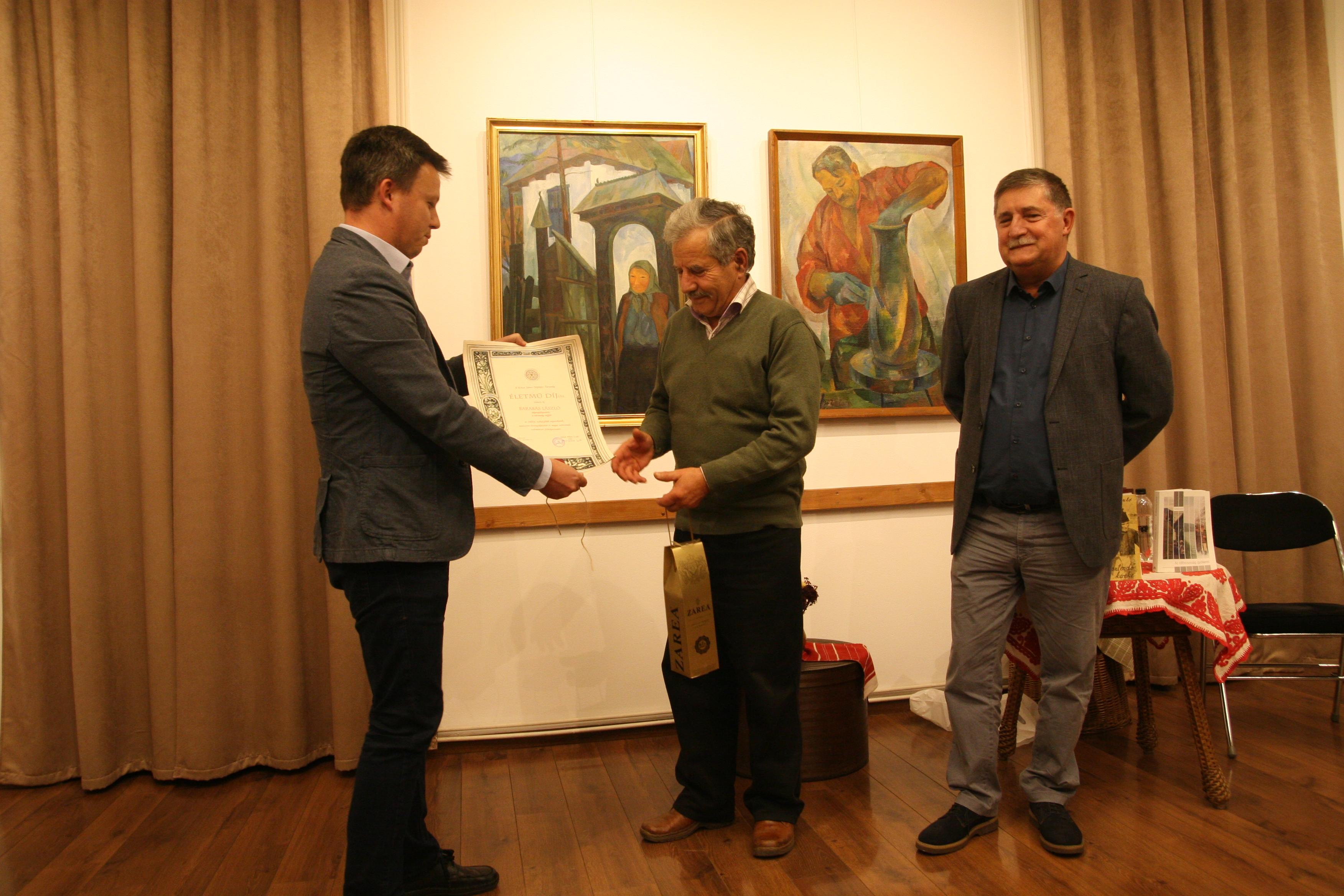 Barabás László kitüntetése