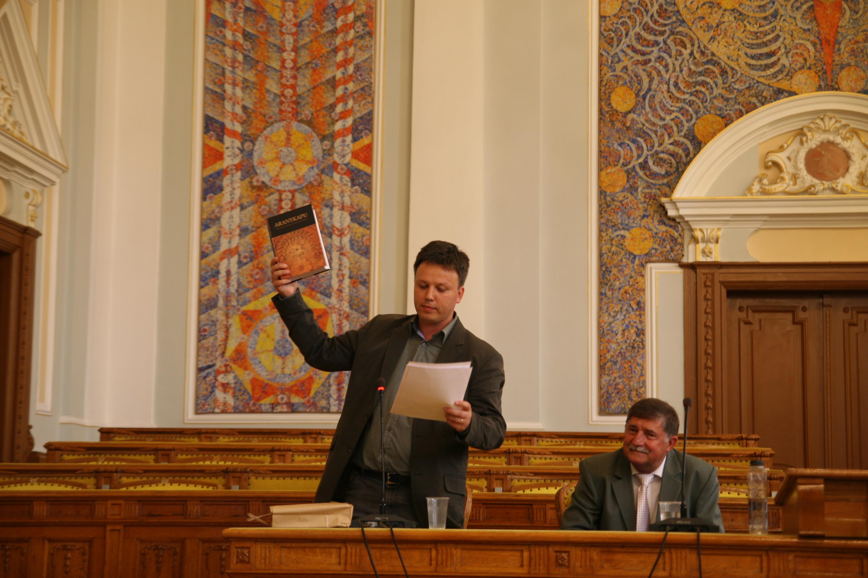A 60 éves Pozsony Ferenc köszöntése